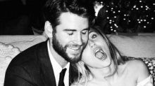 Miley Cyrus shares adorable new wedding photos with Liam Hemsworth for Valentine's Day