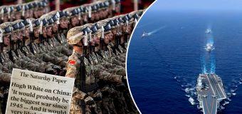 'NUCLEAR': Grim prediction on China war