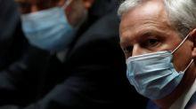 Contração econômica da França pode ser menor do que a previsão de 11%, diz ministro