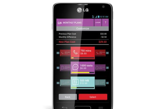 Virgin Mobile lets you customize your family's prepaid phone plan