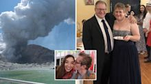 Two teenagers and child among Australians still missing after NZ volcano eruption