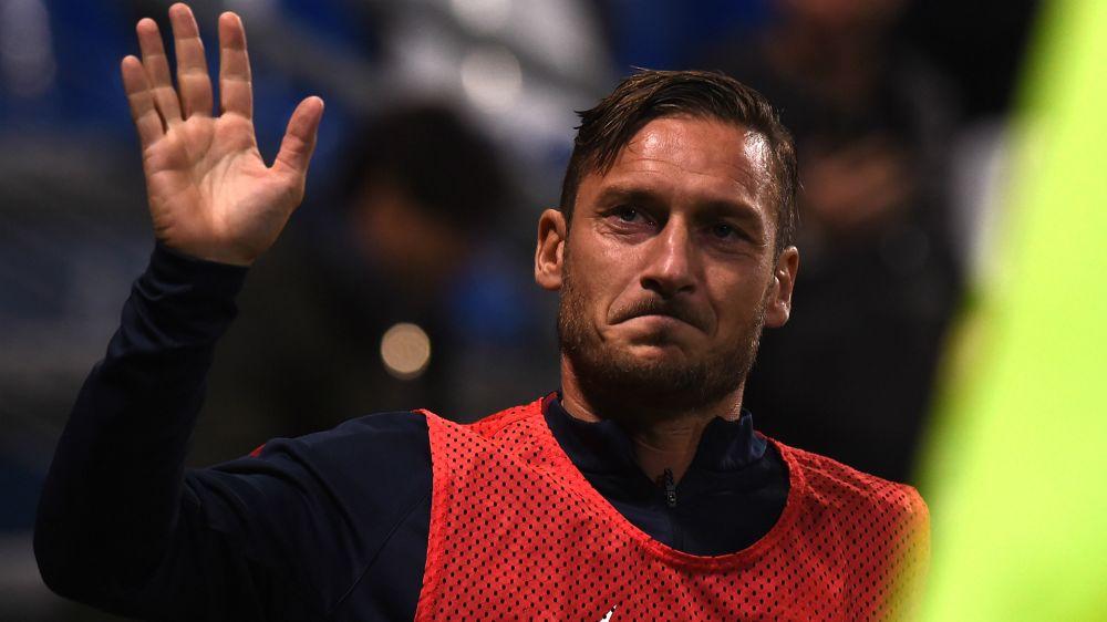 Confirmado: se retira Totti