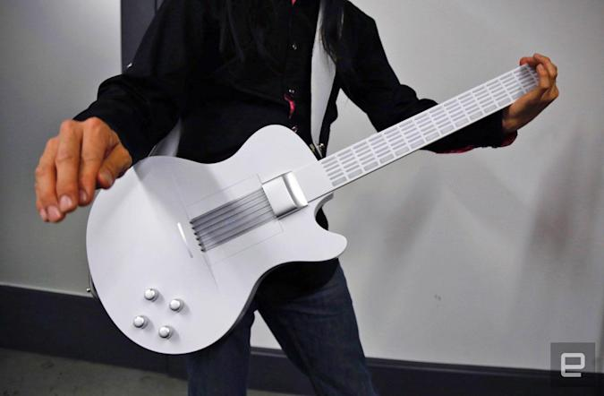 Magic Instruments' digital guitar makes it easy for anyone to jam