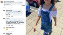 Mum defends daughter's Kmart overalls amid outrage