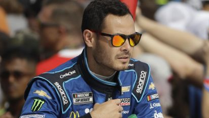 Larson joins Hendrick after for N-word ban