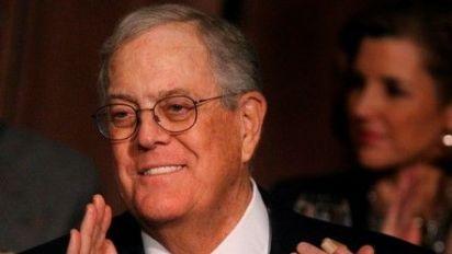 Billionaire industrialist David Koch has died