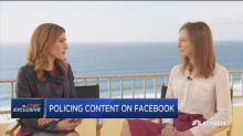 Facebook VP Bickert discusses efforts to combat hate spee...