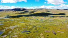 FOTO: Pemandangan Lahan Basah Lhato di Wilayah Konjo Tibet
