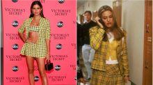 Sara Sampaio y su homenaje a 'Clueless' en la fiesta de Victoria's Secret