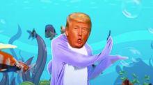 Trump Singing 'Baby Shark' Is Your New Worst Nightmare