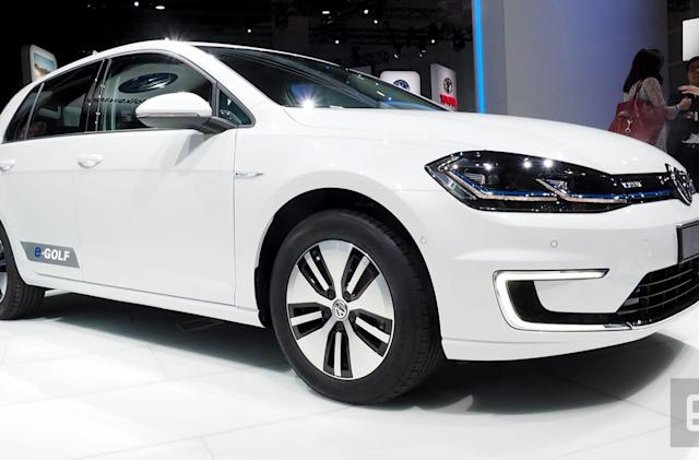 Volkswagen wants to make you forget about diesel with new e-Golf