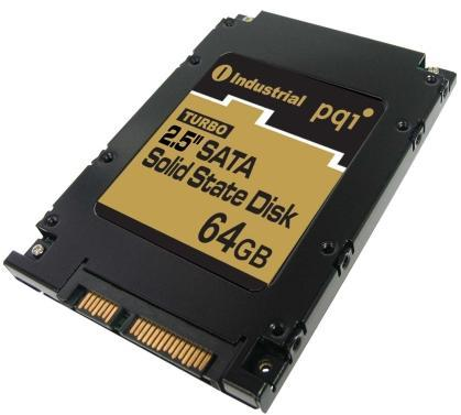 PQI's 64GB SSD with SATA connector: a world's first, twice