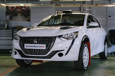 Peugeot Sport加緊腳步打造新208 Rally 4廠車交付參賽!