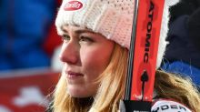 Mikaela Shiffrin returns with mantra, stuck to her helmet, to carry forever