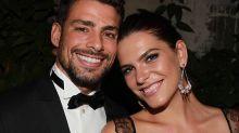 Dois meses após o fim do namoro, Cauã Reymond e Mariana Goldfarb são vistos juntos novamente