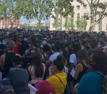 L.A. Protests Draw Thousands Hours after Gov. Newsom Prohibited Fourth of July Gatherings