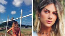 Giovanna Ewbank debocha de internauta que criticou foto em Noronha
