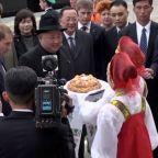 Kim Jong Un arrives in Russian port city for summit with Vladimir Putin