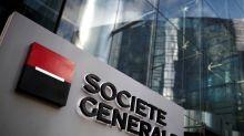 SocGen's Oudea speeds up overhaul as shares hit rock bottom
