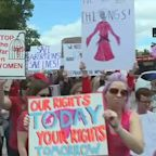 Abortion rights rallies being held across country, in New York City