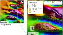 Copper Enrichment in Soil Enhances Aurania's Tsenken N3 as a Porphyry Copper Target