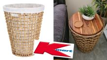 Kmart laundry hamper hack creates 'beautiful' coffee table