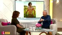 Lorraine Kelly in sexism row after ogling topless Poldark photo