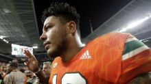 Miami QB Malik Rosier's dad had stroke the week before Notre Dame game