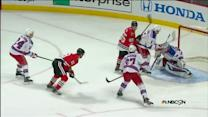 Toews puts in a rebound on the power play