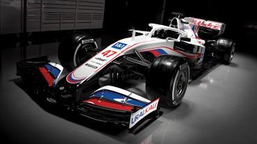 Haas車隊發表2021賽季塗裝