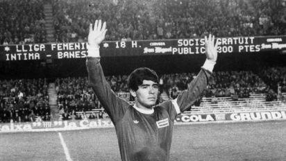Argentinos Juniors guardará y exhibirá las ofrendas a Maradona
