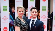 Pregnant Gemma Atkinson climbs Spanish volcano in memory of late father