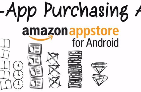Amazon adds in-app purchasing to Appstore for Android devices, Kindle Fire