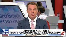 Fox News' Shepard Smith Slams Trump's 'Xenophobic Eruption' Of 'Division'