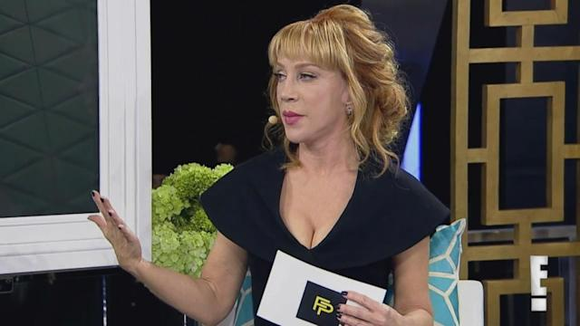 Kathy Griffin Fashion Police Episode Kathy Griffin Leaves Fashion