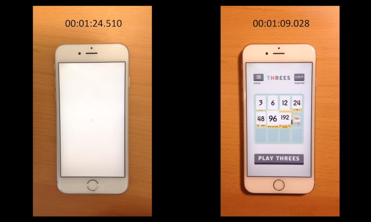 how much iphone 6s how much faster iphone 6s gets with a new battery 14282