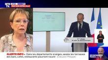 """La présidente du Val-d'Oise """"fâchée"""" que son département soit toujours rouge sur la carte épidémiologique"""