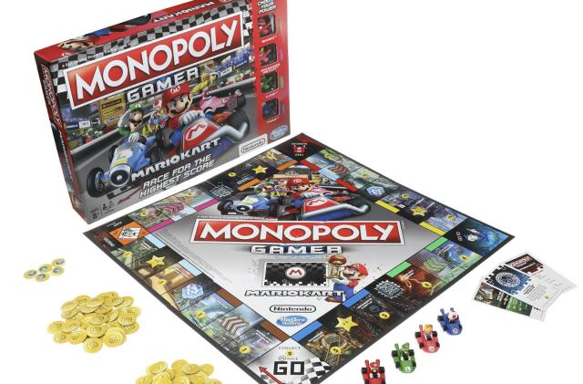 'Mario Kart' Monopoly will have you racing to buy properties
