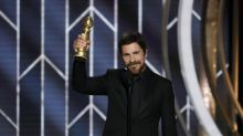Golden Globes: People surprised by Christian Bale's British accent during acceptance speech