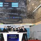 Company behind SKorean hit band BTS soar in trading debut