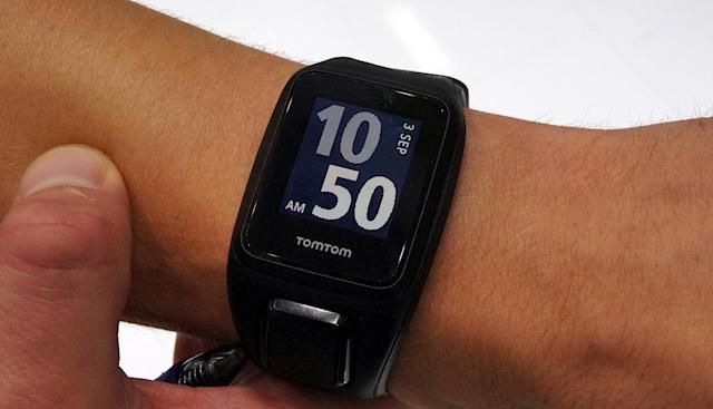 TomTom's newest fitness watch plays music too