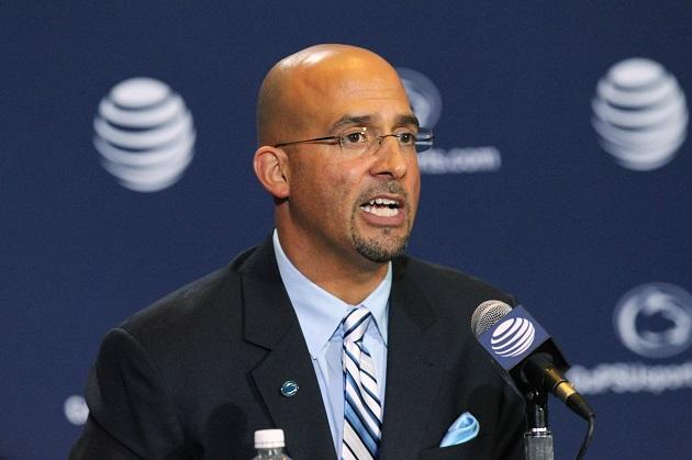 'Pennsylvania boy' James Franklin introduced as Penn State ...