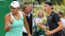 Aussie young guns reach grass-court finals