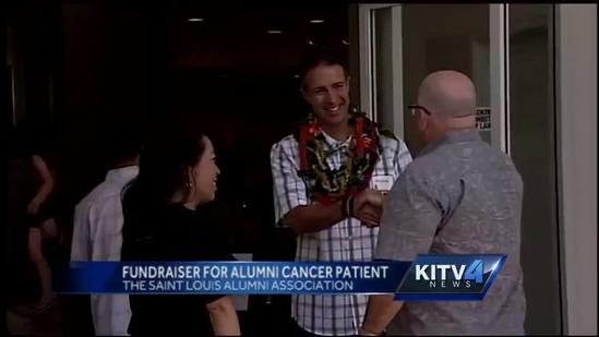 Alumni raise funds for classmate with skin cancer