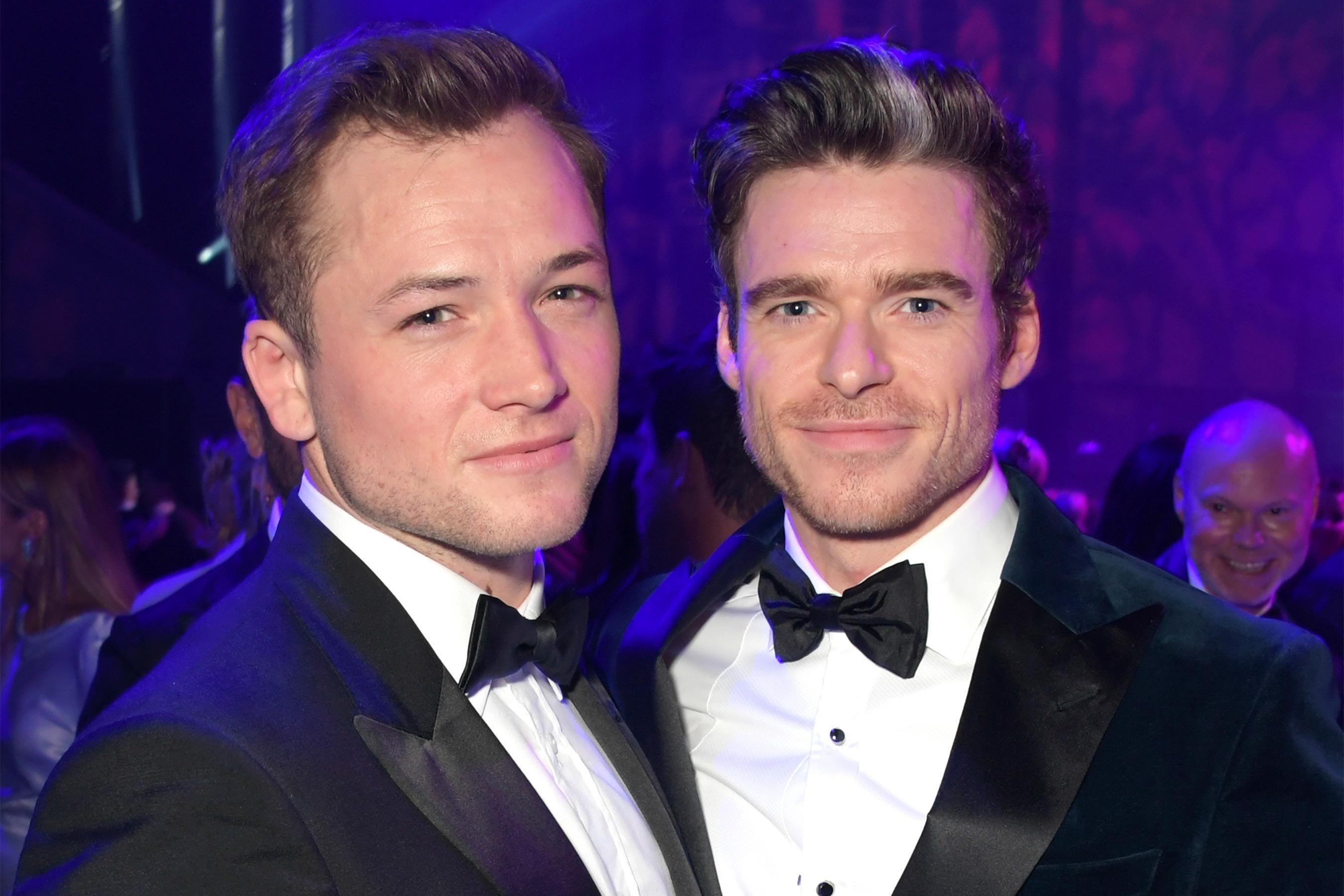 Rocketman stars Richard Madden and Taron Egerton reunite ...