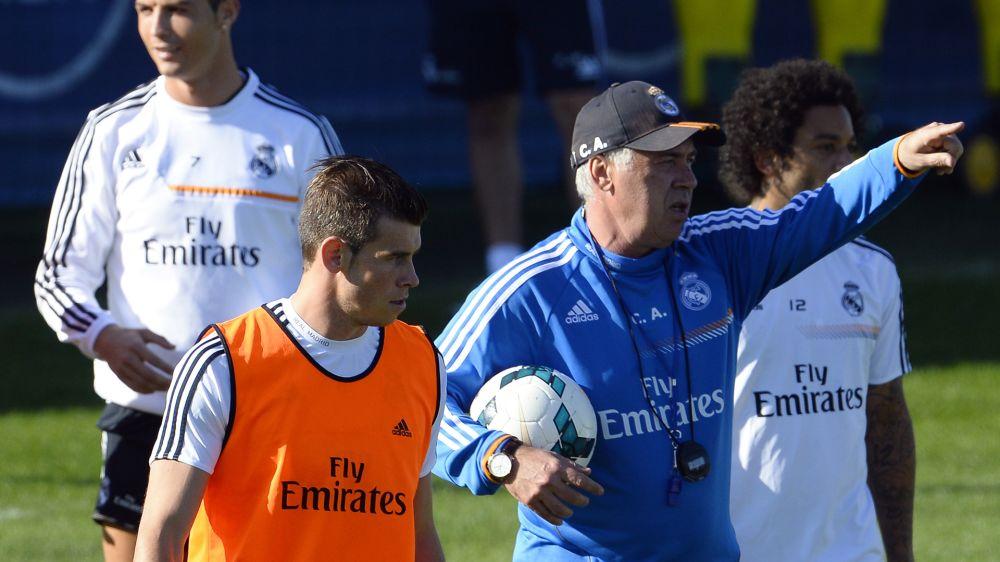 Real-Bayern, Gareth Bale forfait
