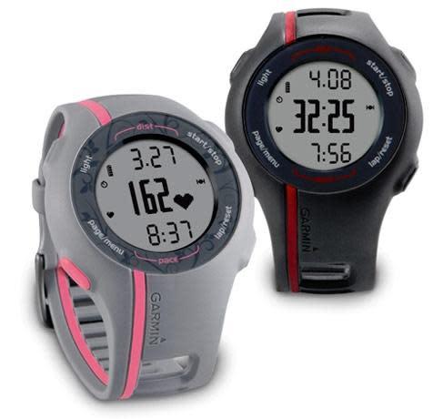 Garmin's Forerunner 110 GPS watch handles just the basics, please