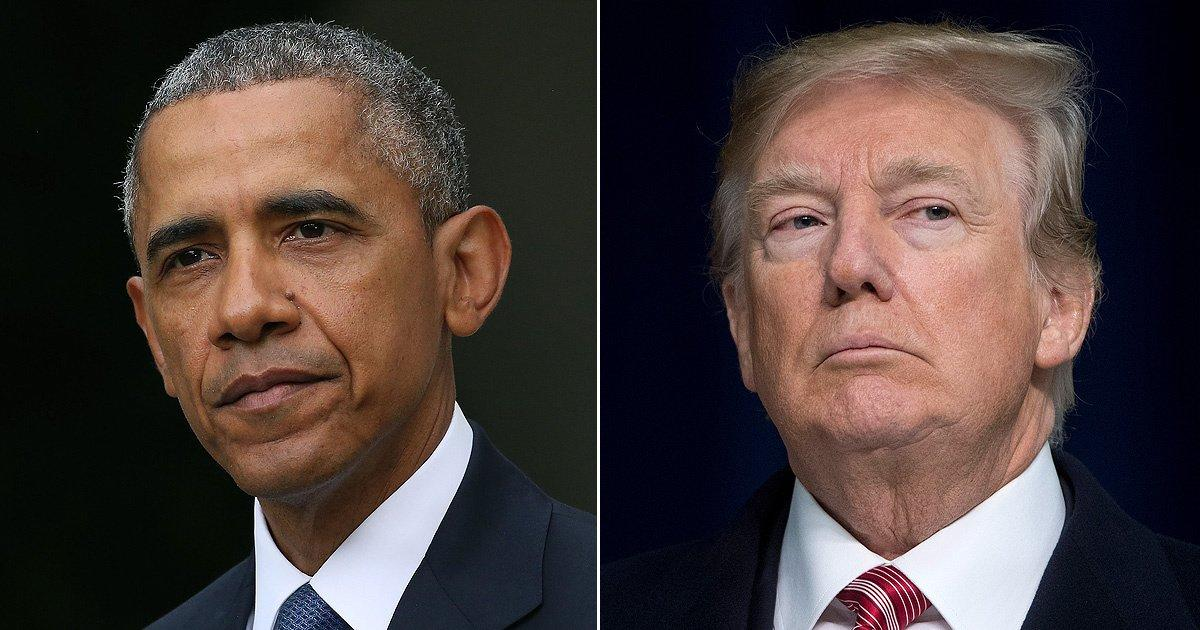 Donald Trump Blames Barack Obama for the White House's Air ...