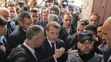 """Le """"moment Chirac"""" de Macron s'invite à la une à Jérusalem"""