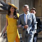 Winfrey, Clooney lead star guests at Britain's royal wedding